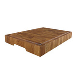 Доска торцевая разделочная, дуб черешчатый 35 х 25 х 4 см, артикул TD03002, производитель - Origins Wood