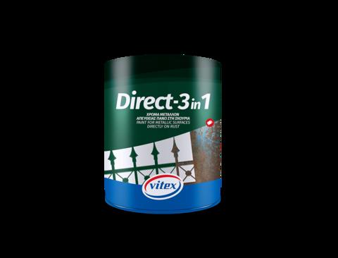 Глянцевая быстросохнущая водоотталкивающая краска высшего качества Direct-1.
