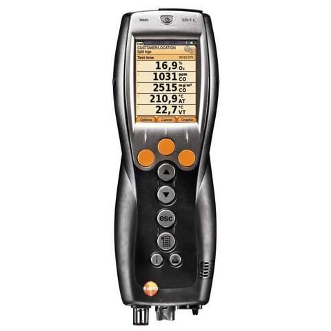 Портативный газоанализатор Testo 330-1 LL c цветным дисплеем, Описание портативного газоанализатора testo 330-1 LL (арт: 0632 3306)