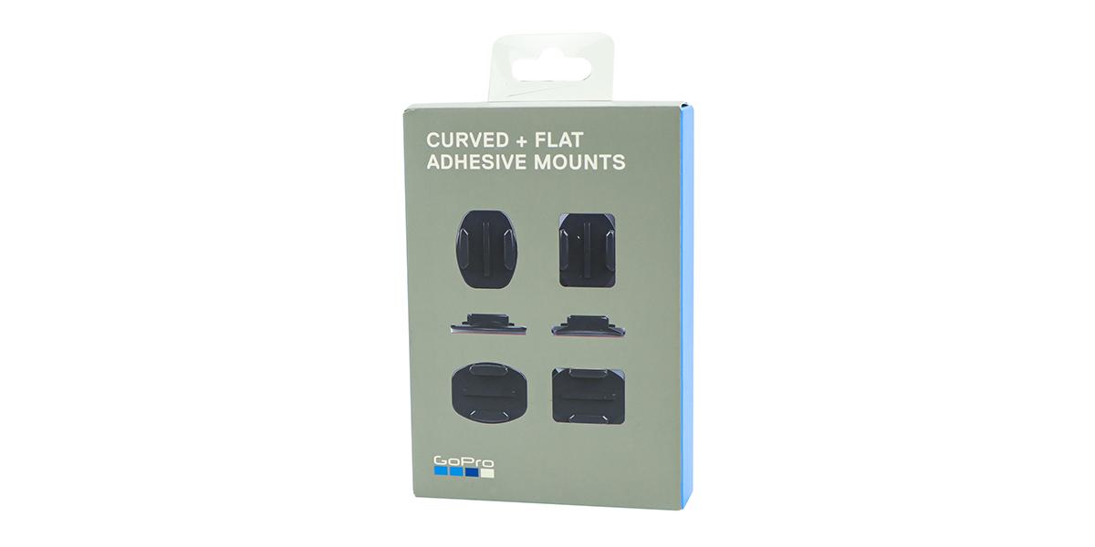 Набор плоских и изогнутых клеящихся платформ GoPro Flat + Curved Adhesive Mounts
