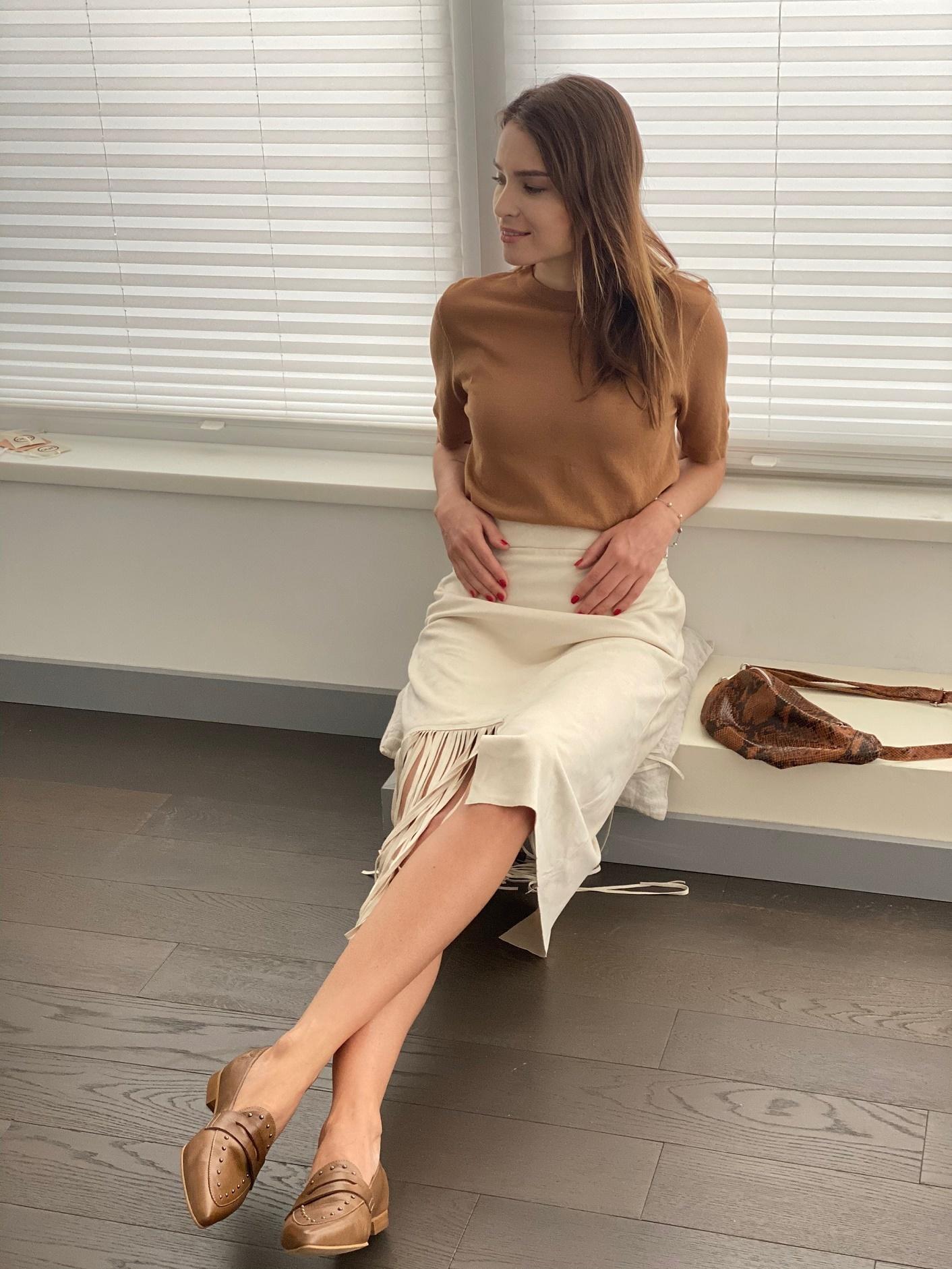 Юбка, Ballerina, ZA1230 (молочный)
