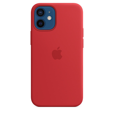 Чехол IP12 Silicone Case Red