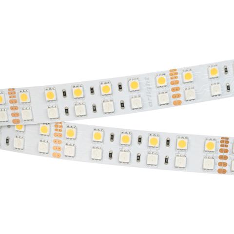 Светодиодная лента RT 2-5000 24V RGB-White 2x2 (5060, 720 LED, LUX) (ARL, 32 Вт/м, IP20)