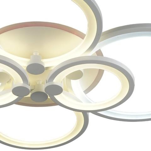 Потолочная светодиодная люстра CX-8067/4+2 WH ML