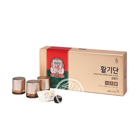 Биологически активная добавка к пище Жевательное драже из корня красного женьшеня 3,75г*10шт Корея