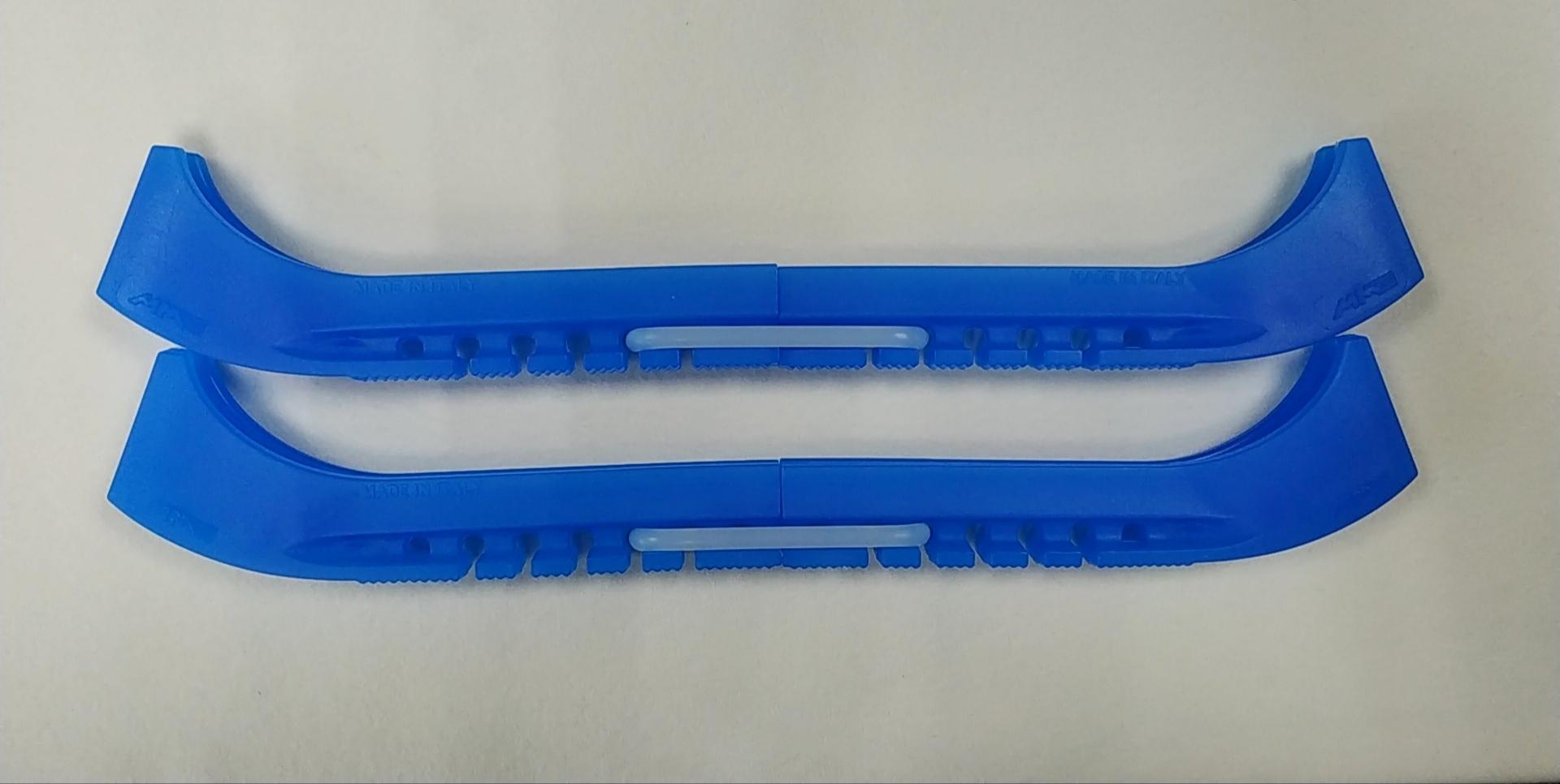 Чехлы на лезвия двойные с силиконовым соединителем (голубые)