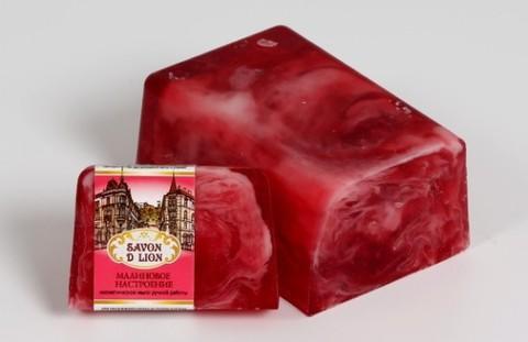Косметическое мыло  Малиновое настроение 100 гр. ТМ SAVON D LION