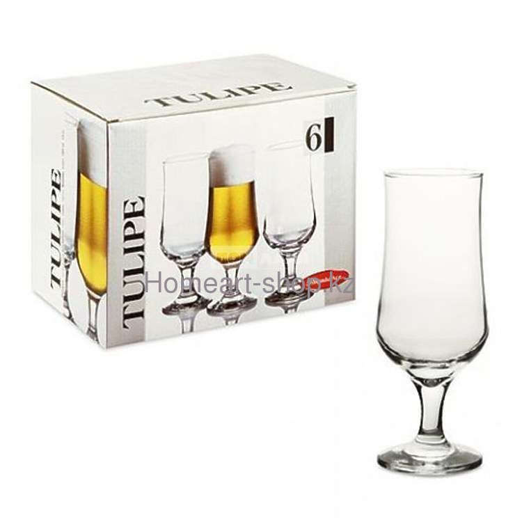 Набор бокалов для пива Pasabahce Tulipe 370 мл 6 пр (44169T6)
