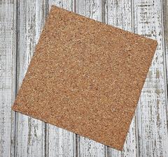 Пробка, лист 10*10 см, толщина 2 мм, 2 шт.