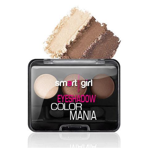 Тени для век Smart Girl Color Mania, сборка 36