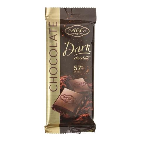 Шоколад ABK Черный 57% 90 г УКРАИНА