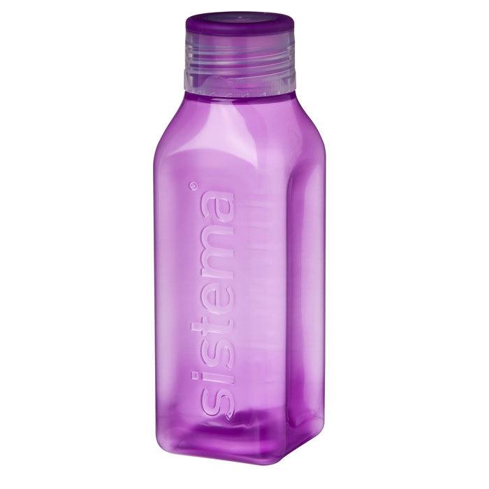 """Бутылка для воды Sistema """"Hydrate"""" 475  мл, цвет Фиолетовый"""