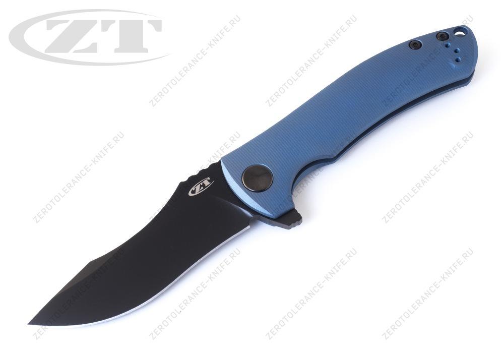Нож Zero Tolerance 0920BLUBLK Les George