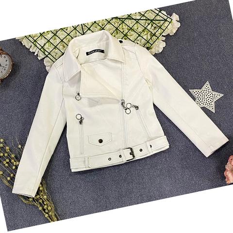 Куртка экокожа девочке (5-9) 210205-J7119