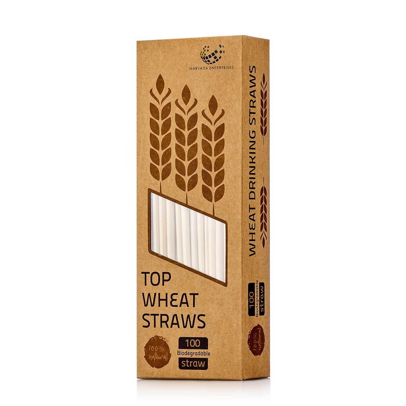 Аксессуары Пшеничные коктейльные трубочки, 100 штук в упаковке wit_straws-teastar.jpg