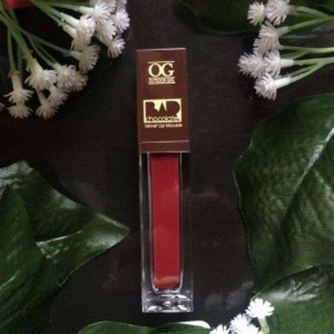 OG-C1206 Блеск-мусс для губ МАТОВЫЙ CHOCOLATE BAR №521