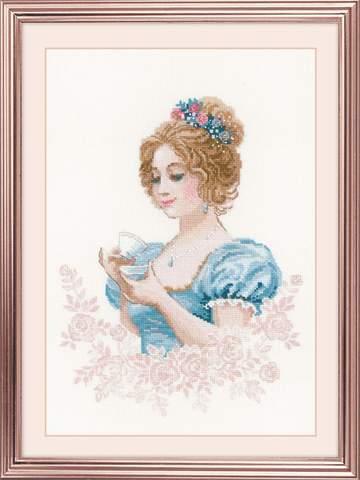 Набор для вышивания крестом «Чайный клуб» (1791)