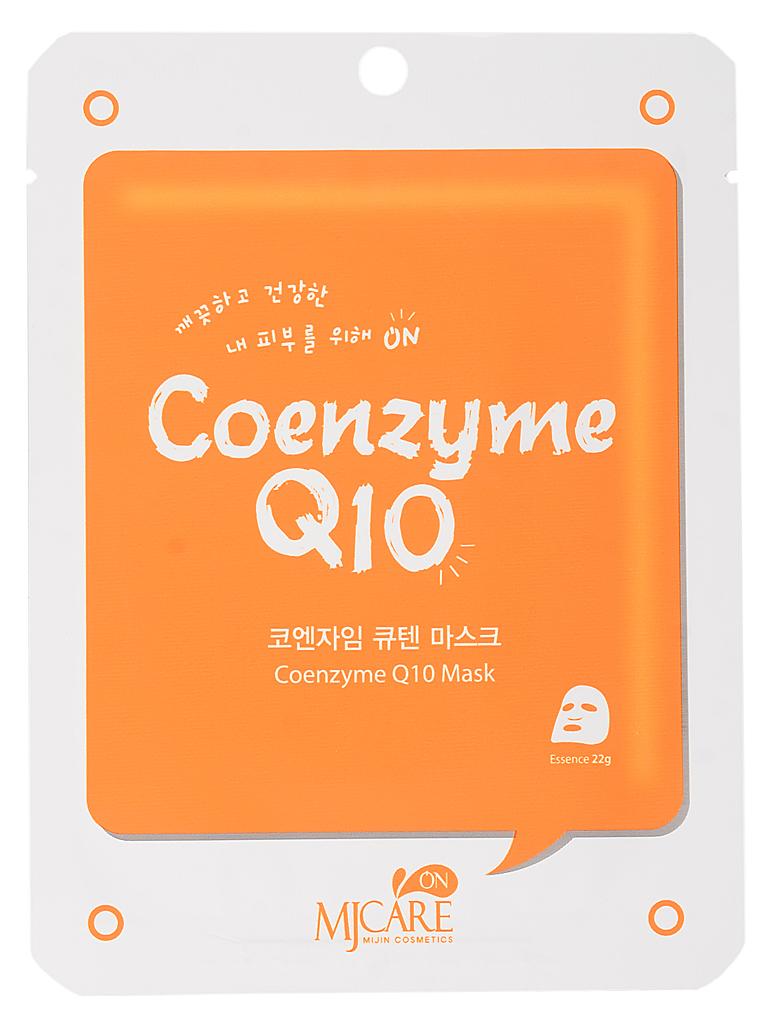 Тканевые Маска тканевая для лица с коэнзимом Coenzyme Q10 mask pack МЖ68.jpg