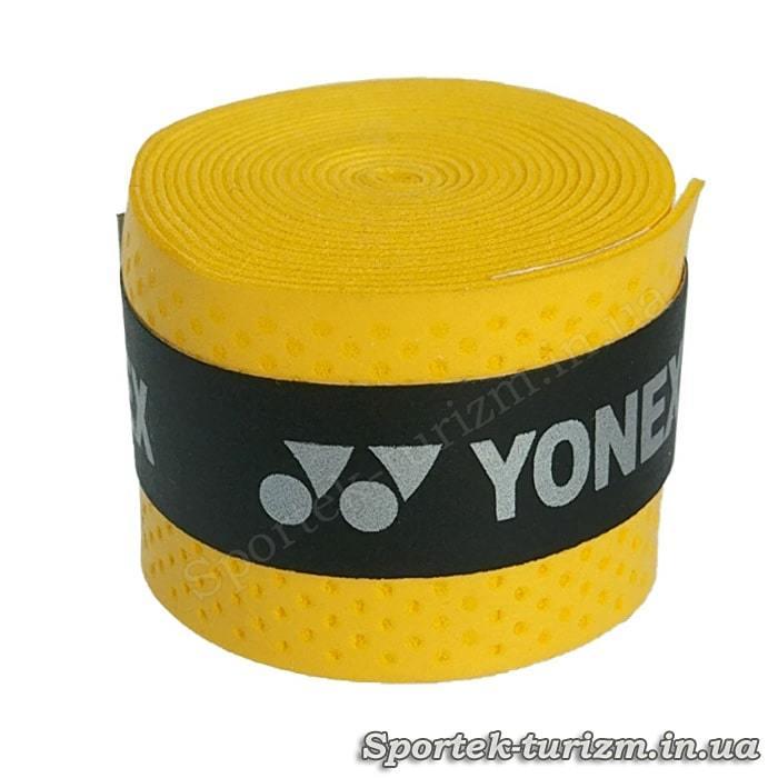 Желтая тонкая обмотка YONEX для ручки ракетки