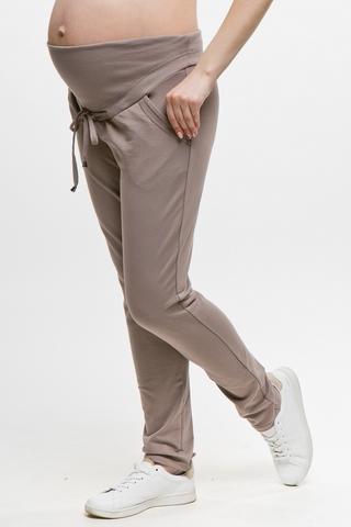 Спортивные брюки для беременных 11562 капучино