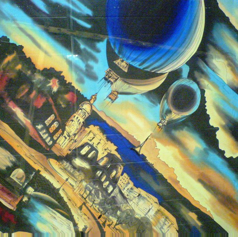 Комплект Батик Ночной Париж