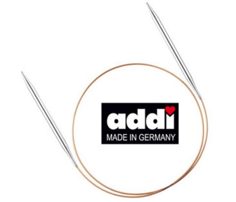 Спицы, круговые, супергладкие, №2.5, 60 см. ADDI Германия арт.105-7/2.5-60