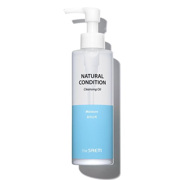 Масло для лица гидрофильное для сухой кожи, 180 мл, The Saem Natural Condition Cleansing Oil  Moisture