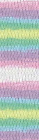 Пряжа Alize Bella Batik 100 цвет 2132