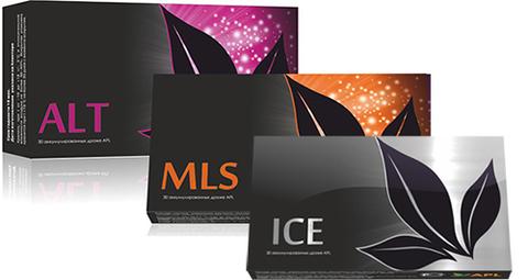 APL. Стартовый набор аккумулированных драже APLGO. MLS+ALT+ICE для избавления от паразитов, аллергии и оздоровления желудка