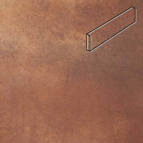 Stroeher - Keraplatte Aera Т 728 core 294x73x8 артикул 8106 - Клинкерный плинтус