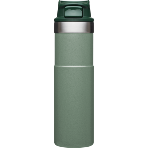 Термокружка Stanley Classic Trigger Action One Hand (0,47 литра), зеленая