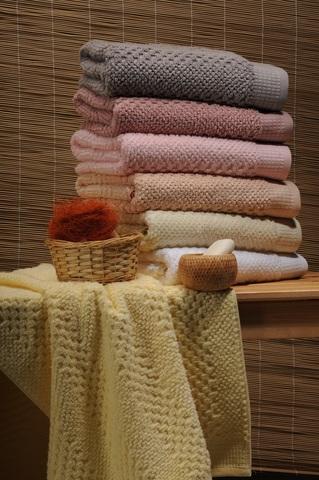Большое пушистое махровое полотенце SNAKE Buddemeyer 100х160