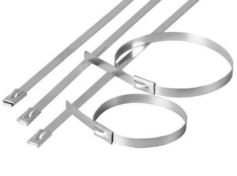 Хомут стальной ХС (304) 4,6х400 (50шт) TDM