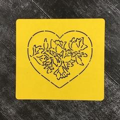 Цветок в сердце №7