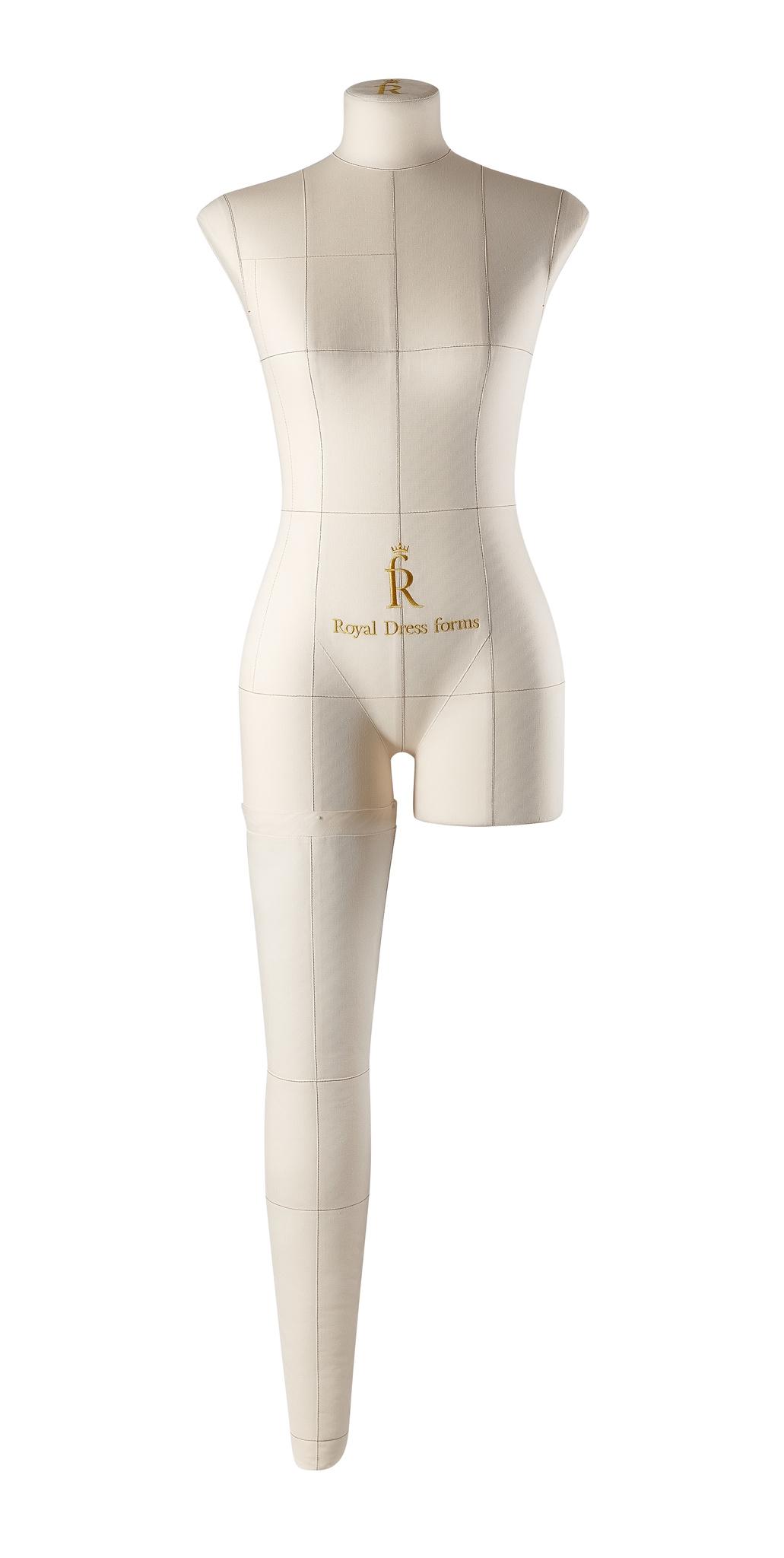 Нога бежевая для манекена Моника, 42 размер