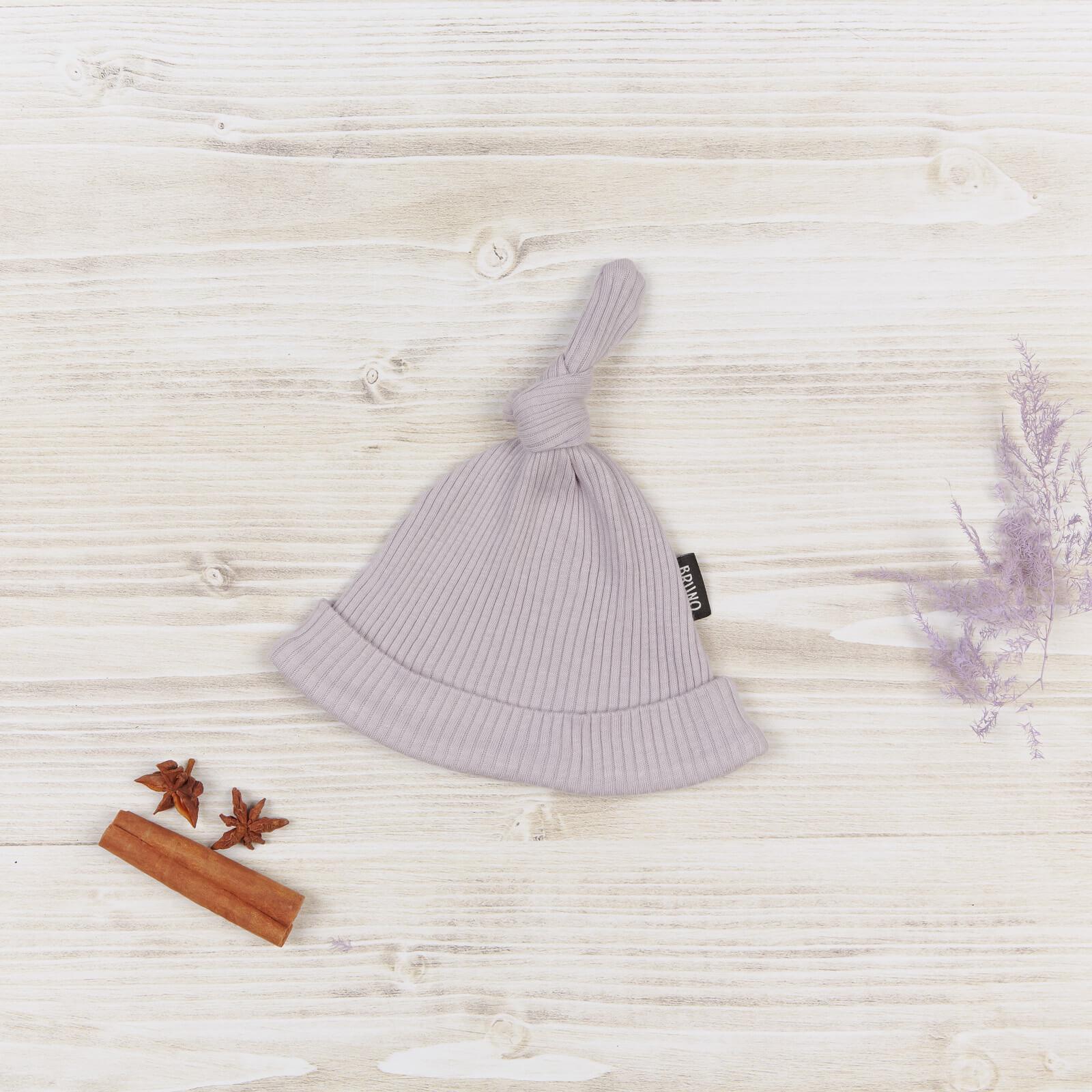 Шапочка с узелком «Lilac»
