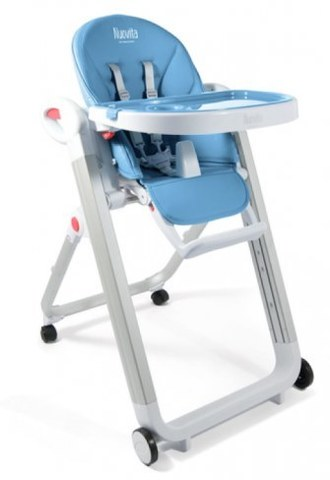 Стульчик для кормления Nuovita Futuro Bianco Blu