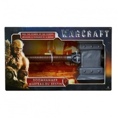 Warcraft The Movie - Role Play Plastic Replica Doomhammer 40cm