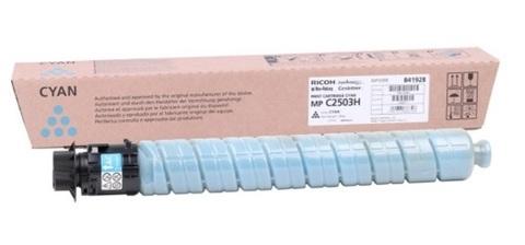 Картридж Ricoh type MPC2503H C 841928 голубой