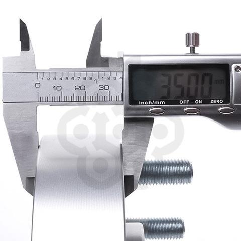 Проставка-адаптер с направляющей PCD 6x139.7 DIA 110,5 толщина 35 мм, M12X1.5X30