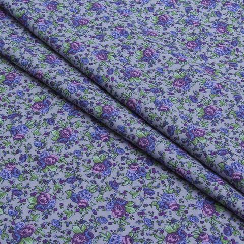 Плательно-блузочная ткань из вискозы и хлопка
