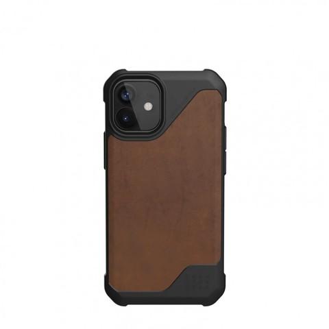 Чехол Uag Metropolis LT кожа для iPhone 12 mini 5.4