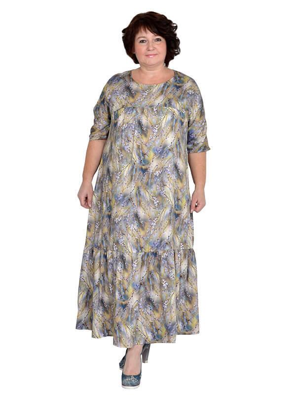 Платье из штапеля Верба