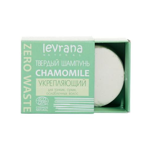 Твердый шампунь Chamomile укрепляющий, 50 гр.
