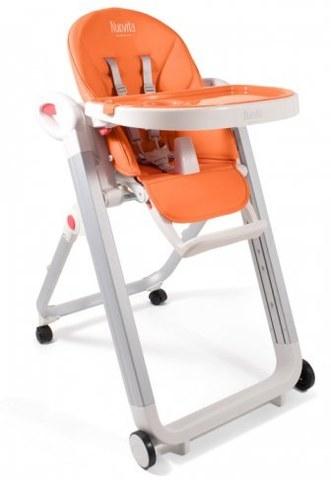 Стульчик для кормления Nuovita Futuro Bianco Arancione