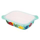 Блюдо для запекания с пластиковой крышкой 22х17 см, артикул 536-208, производитель - Agness