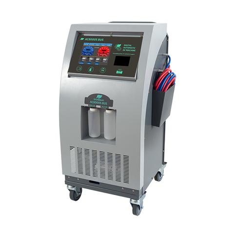 Установка для заправки авто кондиционеров GrunBaum AC8000S BUS, автомат, R134, подогрев, шланг 5м.
