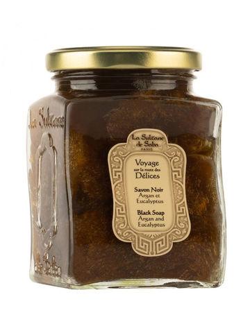 Мыло черное с маслом аргана LA SULTANE de SABA 300 мл