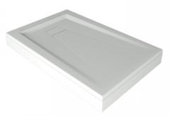 Душевой поддон из литьевого мрамора Bas Атриум 120x80см. CТ000016452