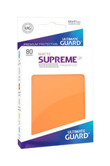Supreme Sleeves Standard Size Matte Orange (UX)